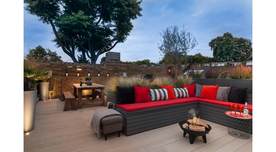 Terrace Fire Pit PM